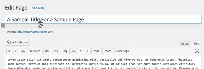 Page Title Splitter WordPress Plugin